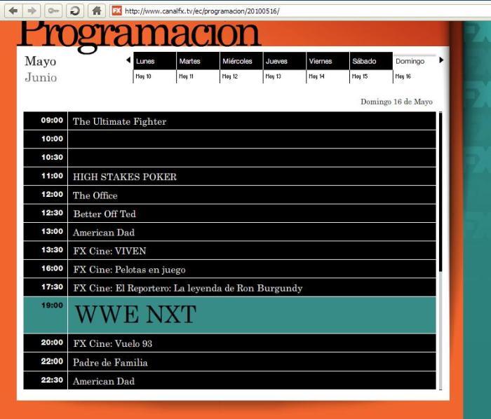 CanalFX - WWE NXT
