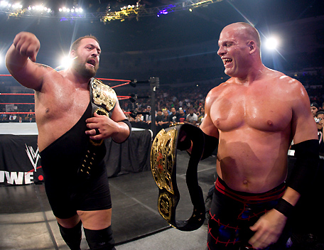 The Big Show and Kane