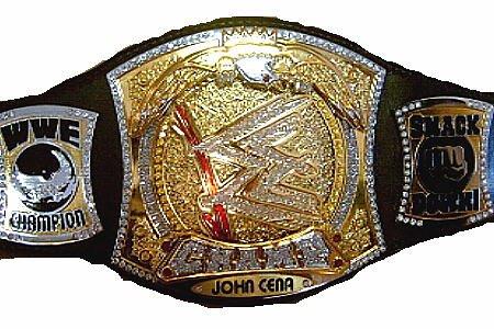 John Cena WWE Championship Belt