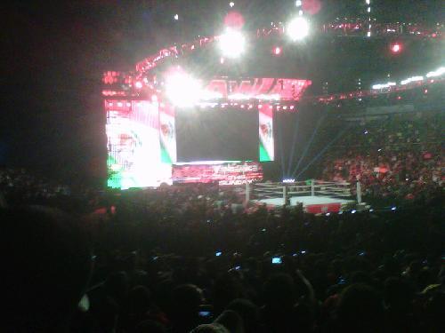 Resultados WWE Raw SuperShow 17 de Octubre 2011 – Show desde Ciudad de México
