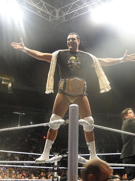Alberto del Rio WWE Champion 2