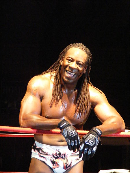 Booker T at a TNA live event. Photo By: Shstrng.