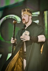 King' Sheamus at WWE's Tribute to the Troops show in Fort Hood, Texas, on December 11, 2010. Photo By: Shamsuddin Muhammad.