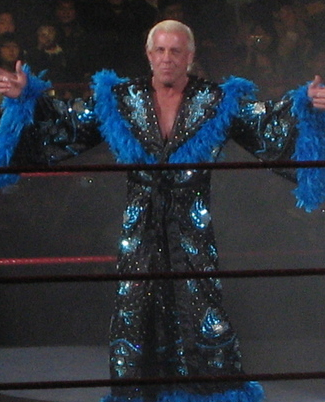 Ric Flair in Seoul, South Korea. February 10, 2008. Photo: Yagobo79.