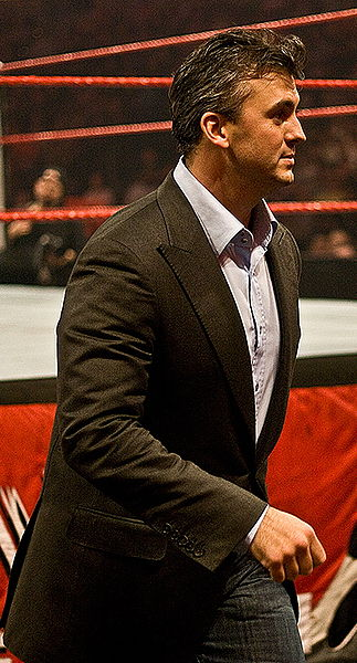 Shane McMahon at a live event on Monday Night Raw in Tampa, Florida 2008. Photo By: David Seto.