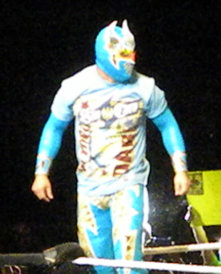 Sin Cara in June 2011. Photo By: slgckgc