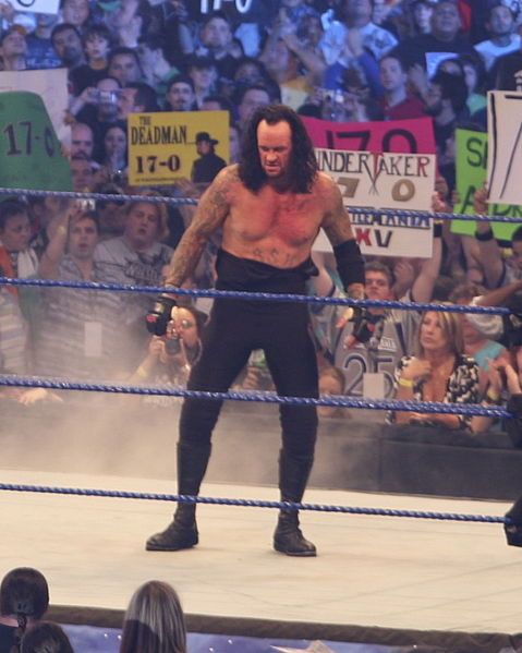 Mark Calaway aka The Undertaker, at Wrestlemania 25 at Reliant Park in Houston Texas 2009. Photo By: Ed Schipul.
