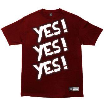 Nueva camiseta Daniel Bryan- WWE Shop