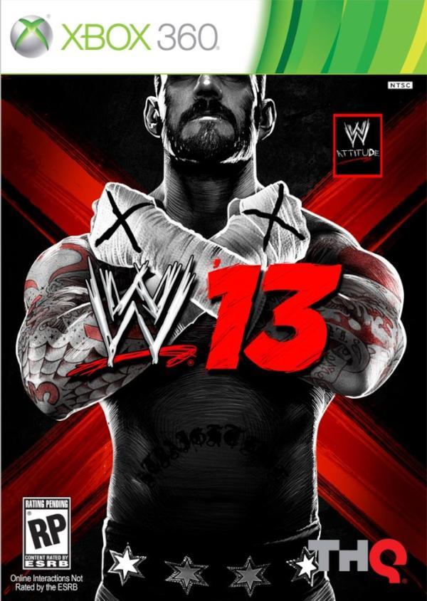 Portada WWE 13 @CmPunk