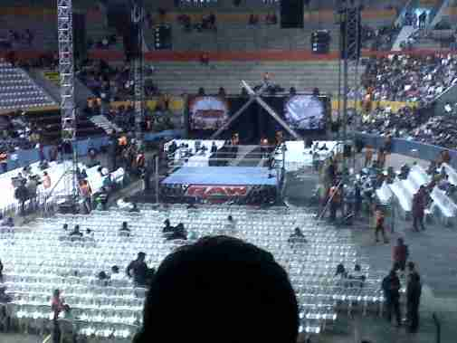 WWE RAW World Tour 2012 en el Coliseo General Rumiñahui - Quito, ECUADOR - Foto por CristobalCp(@CristobalCp)