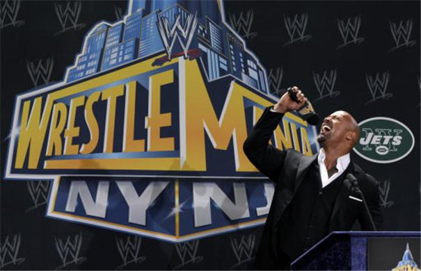 Wrestlemania 29-The Rock