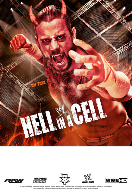 Poster Hell in a Cell 2012. WWE Inc
