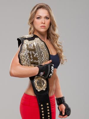 Ronda Rousey, UFC.com