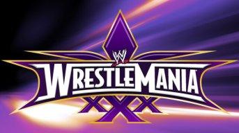 Wrestlemania XXX Logo - twitter @WrestleMania