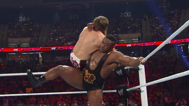 lucha entre Big E. Langston vs Daniel Bryan