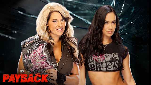 WWE Payback - Kaitlyn vs Aj Lee - wwe.com
