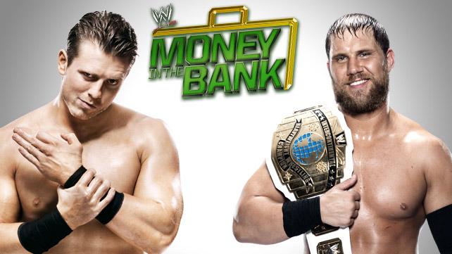 The Miz vs. Curtis Axel - Money in The Bank - wwe.com