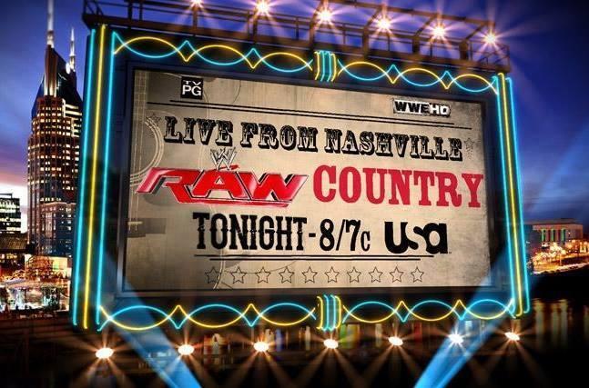 Raw al estilo country