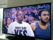 Shocked Undertaker Guy - WrestleMania XXX